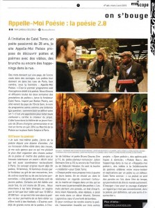 Article presse (Afriscope - mars 2015)